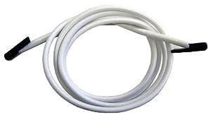 Lafuma Kit lacets élastiques avec embouts refermables, 4 pièces, Pour fauteuils Lafuma RSX et RSXA, Couleur : Blanc, LFM23220020