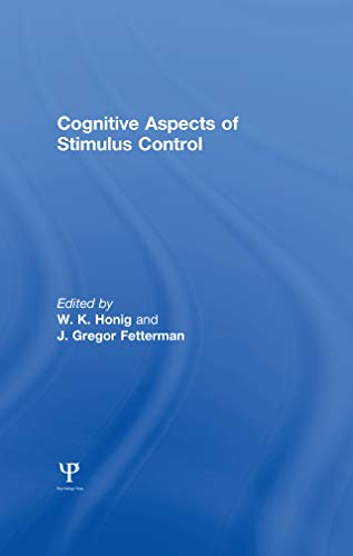 Cognitive Aspects of Stimulus Control (English Edition)