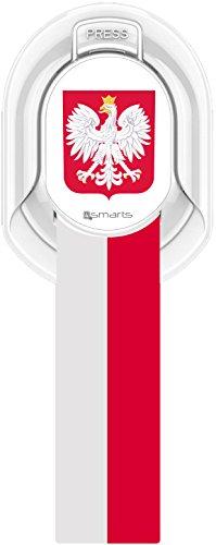 4smarts Finger Halteschlaufe für Smartphones, Polen (Halteschlaufe)