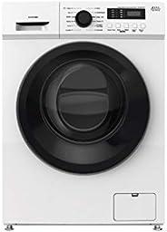 Lave linge Hublot Doman DS147WBK - Lave linge Frontal - Pose libre - capacité : 7 Kg - Vitesse d'essorage