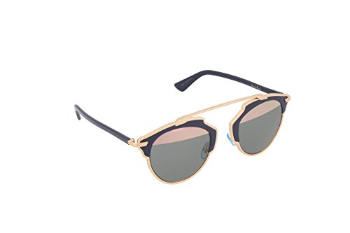 Dior Damen DIORSOREAL ZJ U5W Sonnenbrille, Copper Blue/Grey Rose Gold, 48