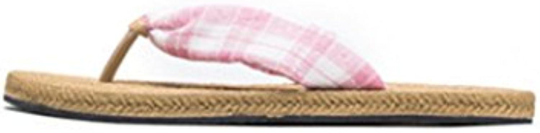 Sommer Beiläufige Breathable Ebene Des Pantoffelfrauenabnutzungs Sommers Mit Anti Rutschsandalen Der Massageunterseite
