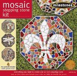Mosaic Stepping Stone Kit-Mosaic