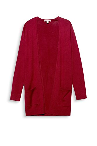 ESPRIT, Cardigan Donna Rosso (Cherry Red 615)