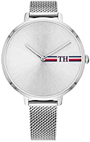 Tommy Hilfiger Women'S Silver White Dial Stainless Steel Watch - 178