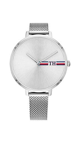 Tommy Hilfiger Damen Analog Quarz Uhr mit Edelstahl Armband 1782157 - Damen Uhren Movado