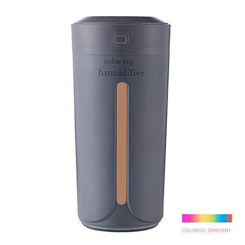 EisEyen USB LED Luz Nocturna ultrasónico Humidificador Aroma difusor Silencioso Humidifier nebulizador raumbefeuchter 230ML para habitación hogar Auto Dormitorio Oficina Yoga