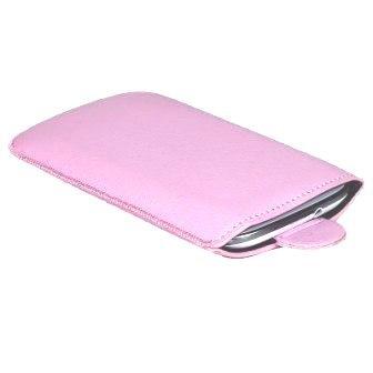 Handytasche passend für Kazam Kazam Tornado 2 5.0 Handy Tasche Schutz Hülle Slim Case Cover Etui pink