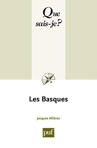 Les Basques: « Que sais-je ? » n° 1668