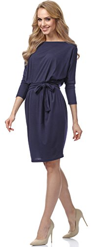 Merry Style Damen Kleid MSSE0006 Navyblau