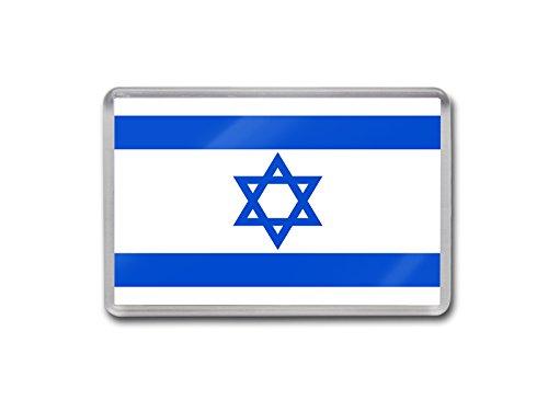 Bandiera di Israele-Magnete per frigorifero, con colori di alta qualità