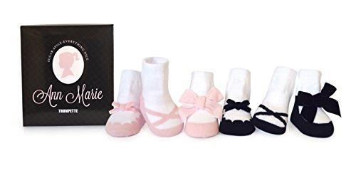 Trumpette Baby-socken (Trumpette Baby Mädchen (0-24 Monate) Socken mehrfarbig Ann Marie/Assorted Pastels 0-12 Monate)