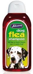 Johnsons Puppy & Dog Flea Shampoo 200ml by Johnson's Veterinary Products