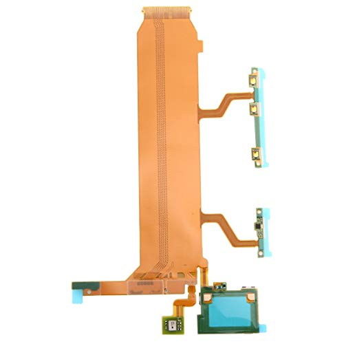 Handy-Flexkabel Motherboard (Power & Volume & Mic) Flachbandkabel for Sony Xperia Z Ultra / XL39h / C6806 Flexkabel (Sony Motherboard Ersatz)