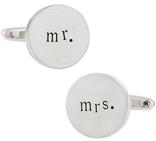 Mr. und Mrs. Hochzeit Manschettenknöpfe