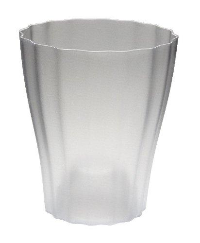 Terra Kunststoff Orchideenvase, Weiß, 15 cm