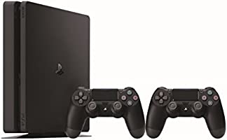 Sony PS4 1 TB Slim Console with Additional Dualshock Controller Pasted Outside Box (Black)
