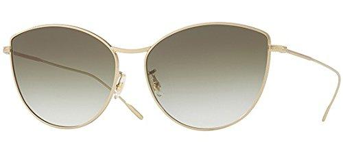 Oliver Peoples Sonnenbrillen RAYETTE OV 1232S SOFT GOLD/OLIVE SHADED Damenbrillen