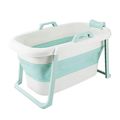 XUELIANG Erwachsene Badewanne tragbare Faltbare Badewanne, Baby-Kind-Badewanne, Haushalt große Badewanne Faltbare Duschwanne, komfortable Faltbare Erwachsenen Badewanne