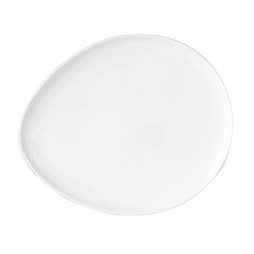 TABLE PASSION - ASSIETTE DESSERT 22.8X19 PAROS (LOT DE 6)