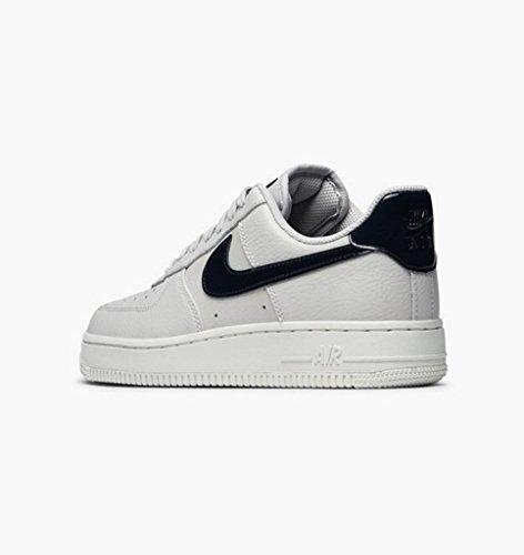 Nike Wmns Air Force 1 07, Baskets Femme Gris (vaste Gris / Obsidienne / Summit Whit)