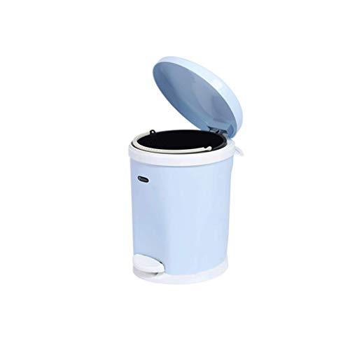 CivilWeaEU Rectangulaire poubelles Salle de Bains /étroite Creative Fashion Pied en Acier Inoxydable Accueil Cuisine europ/éenne Salon Couleur : Blanc