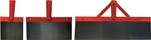 Stoßscharre, ohne Stiel, Breite 500mm, Blatt gehärtet min. HRC 42