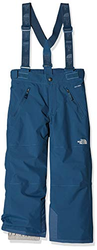 The North Face Y Snwqust Susp P Pnt Pantalón Infantil con Tirantes Snowquest, Unisex Niños, Blue Wing Teal, XL