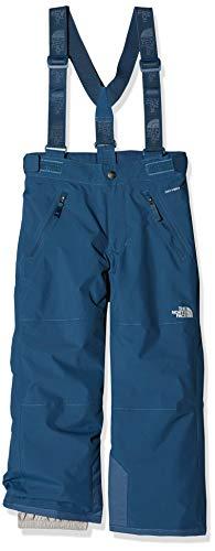 THE NORTH FACE Kinder Snowquest Suspender Plus Hose, Blue Wing Teal, S