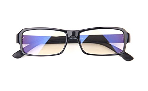 Callmate Anti-Radiation UV Protection Computer Glasses - Black