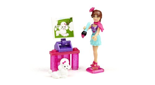 Mega Bloks Barbie Mega Bloks Barbie Art Teacher Tersa, Multi Color