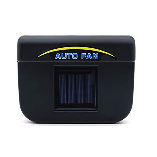 Alexsix Solar Powered Car Window Windshield Auto Air Vent Cooling Fan Cooler Radiator Ventilator