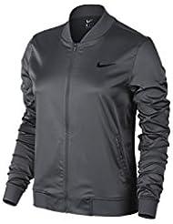 Nike Maria Sharapova W Jkt Premier - Chaqueta para mujer, color gris, talla L