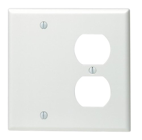 leviton-88008-2-gang-1-duplex-1-blank-device-combination-wallplate-standard-size-thermoset-box-mount