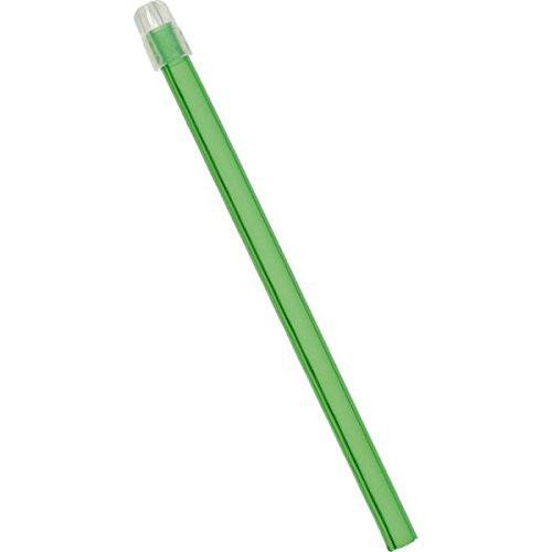wellsamed wellsaliva Speichelsauger, Einmal Dentalsauger, Einweg Dental Absauger, Sauger mit abnehmbarer Kappe, Länge 12,5 cm, grün