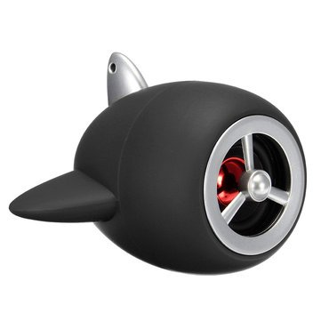 Generic U Disk Wireless Bluetooth Speaker Mini Bass TF Card FM Radio Hands-free- Black