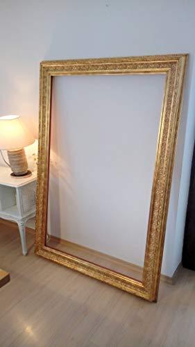 XXL Barock Rahmen Spiegel Rahmen Holzrahmen gold oder silber Riesen Format auf Wunsch gerne mit Spiegel oder Stoffpolsterung Antik