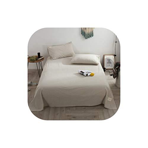 Moily Fayshow Cotton flaches Blatt Twin Voll Königin King Size Bettlaken Set Für Dorm, Bedsheet 9,2Pcs Kissen- (Bettwäsche Für Kinder, Zweibettzimmer)