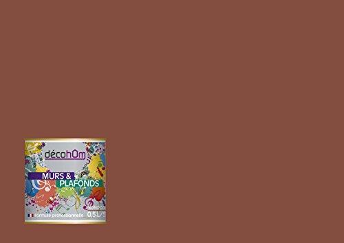 Preisvergleich Produktbild decohom Wandmalerei Monoschicht Satin 0,5l Afrika Schokolade Milch