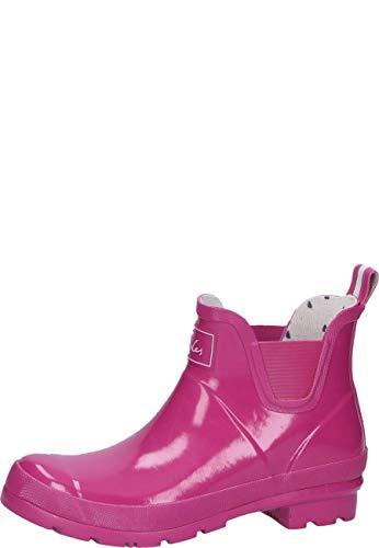 Tom Joule Joules Damen Wellibob Gloss Gummistiefel Pink, 40/41 EU