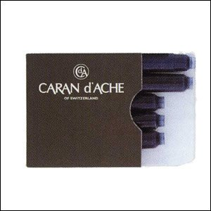 Preisvergleich Produktbild Caran d 'Ache Tintenpatronen (5Stück) BlueÂ