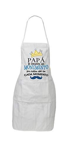 Delantal Mensaje Papa TE MERECES UN Monumento Estar