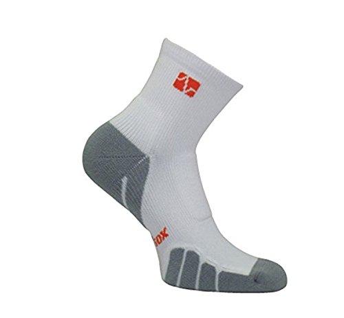 Preisvergleich Produktbild VitalSox Tennis Classic drystat Kompression Quarter Socken,  Schwarz,  Medium