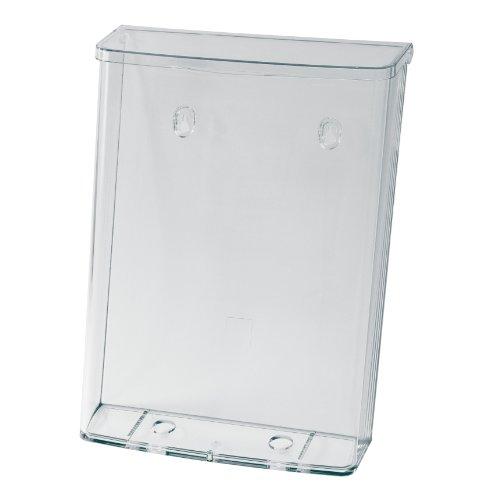 sigel-lh325-porta-depliant-da-parete-formato-a4-per-esterni-resistente-alle-intemperie-con-coperchio