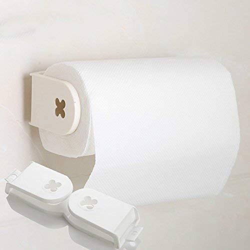BAIJJ Leistungsstarke Sauger Papier Handtuchhalter Toilettenpapier Haken Handtuch Box Küchenpapier Handtuchhalter Sauger Rahmen Küchenrollenhalter