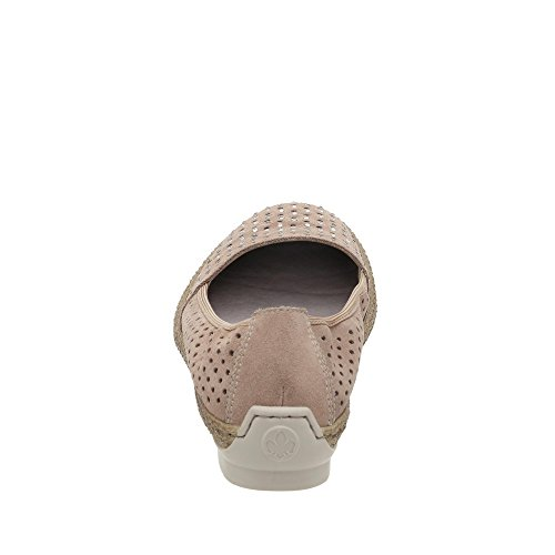 Rieker47856-62 - Scarpe chiuse Donna Beige