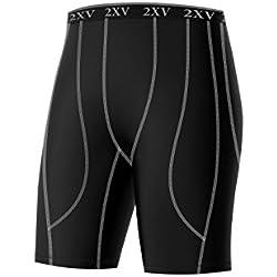 Pantalón Corto de Running, Pantalón Corto de Correr, Mallas compresivas - Dehera