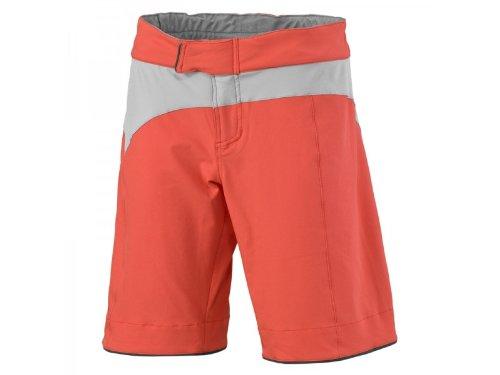 SKY bikewear SCOTT Damen Short Unterwäsche 221630298300 loose fit crl rd/lm gr S (Fit Short Loose Bike)