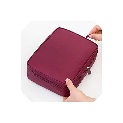 ShuuHaYi Multifunction Man Women Makeup Bag Beauty Case Make Up Toiletry Bag Kits Storage Travel Wash Pouch,Onesize,02C