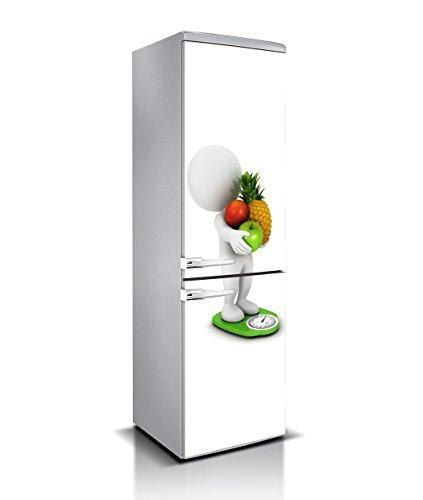 PRECAUCIÓN: MEDIR DETENIDAMENTE el frigorífico antes de realizar la compra. APLICACIÓN: Nuestros materiales son de fácil aplicación y se pueden encontrar fácilmente tutoriales de aplicación de vinilo online.